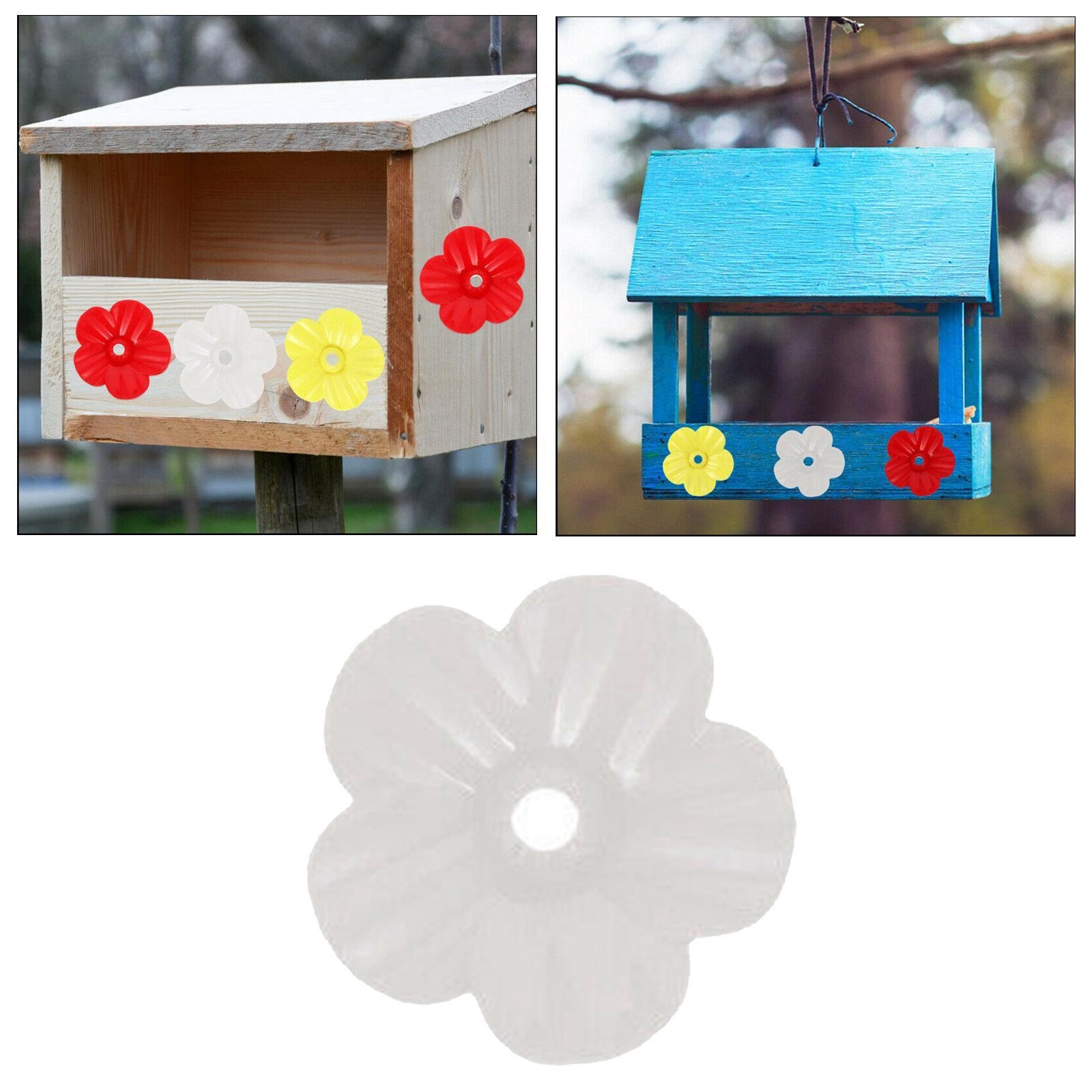 thumbnail 8 - Hanging hummingbird feeder replacement flower, feeding port, parts used supplies