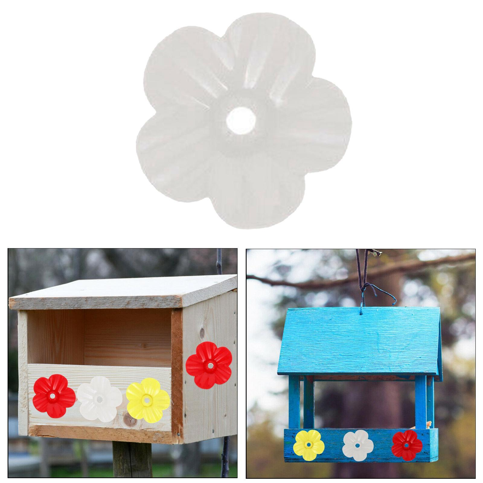 thumbnail 10 - Hanging hummingbird feeder replacement flower, feeding port, parts used supplies