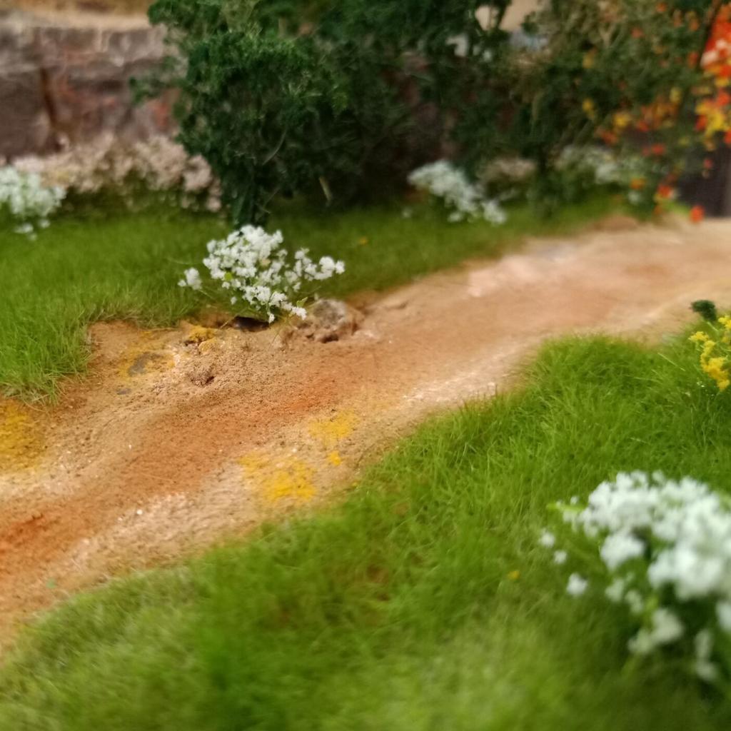 Ciuffi-di-Fiori-Statici-per-Diorama-Wargaming-Miniature miniatura 4