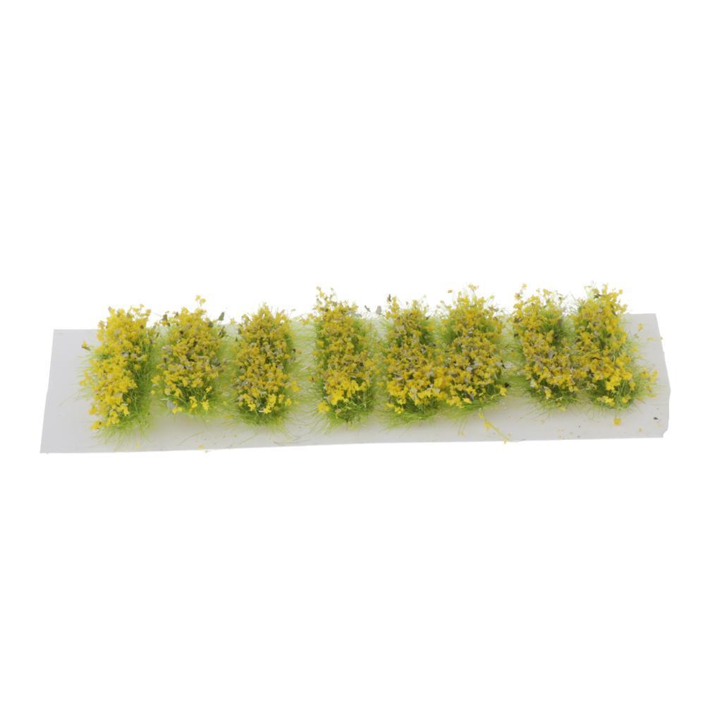 Ciuffi-di-Fiori-Statici-per-Diorama-Wargaming-Miniature miniatura 3