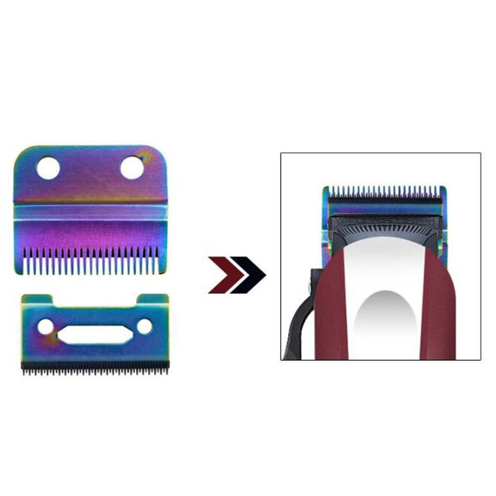 miniatura 7 - Lama per tagliacapelli da barba da 2 lotti antiruggine