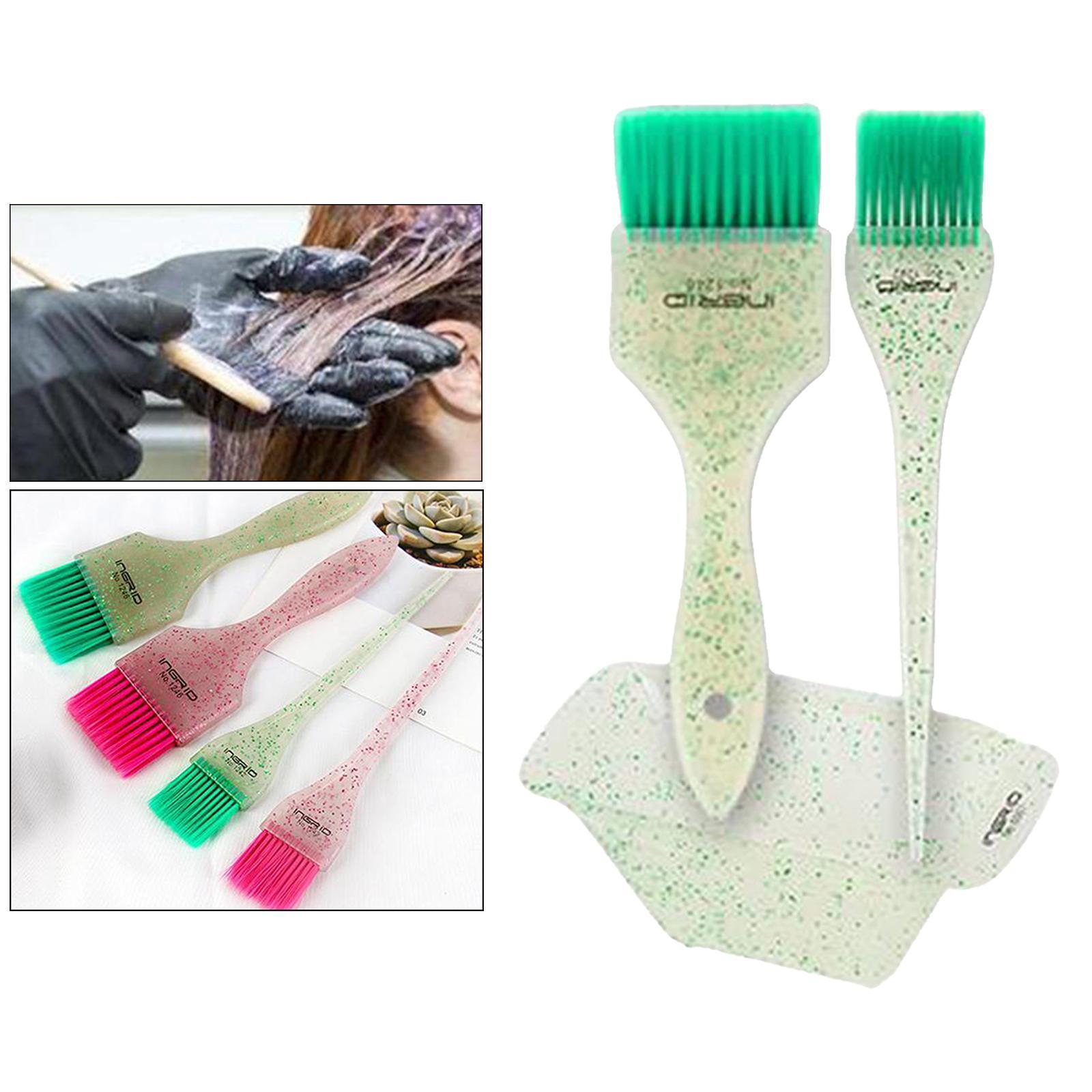 miniature 2 - Kit de teinture pour cheveux 3 pièces en plastique bol de coloration des