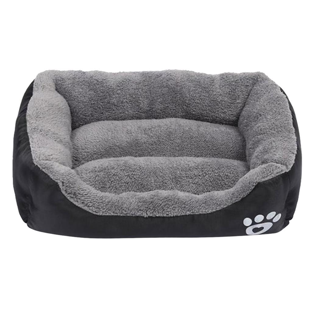 miniature 22 - Lavable chat chien animal de compagnie chaud lit de couchage câlin panier