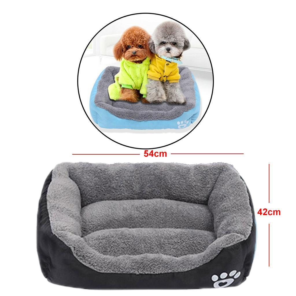 miniature 22 - Doux en peluche lit pour animaux de compagnie chien chat coussin de couchage