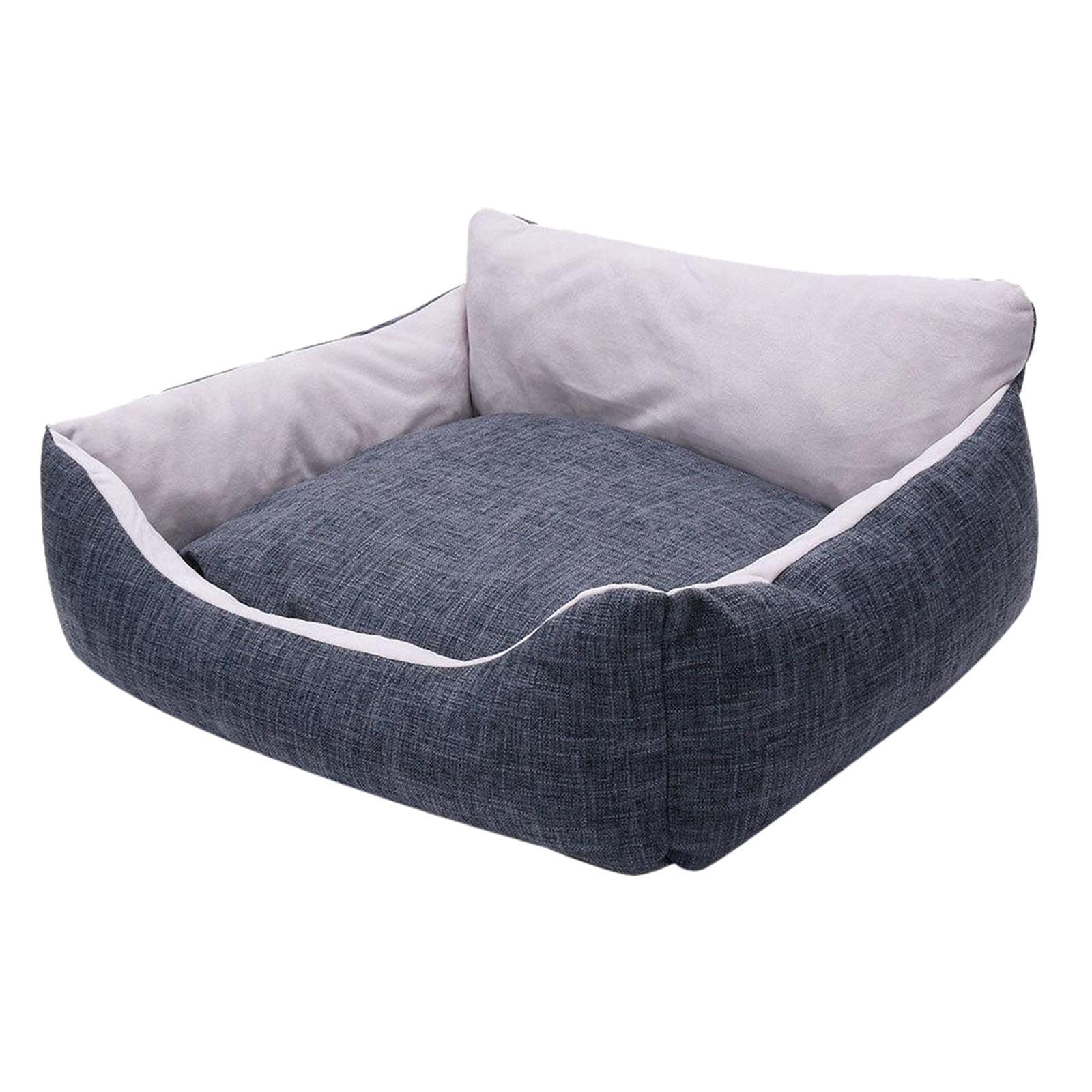 miniature 33 - Chien pour animaux de compagnie, lit de chat doux et lit en peluche chennel