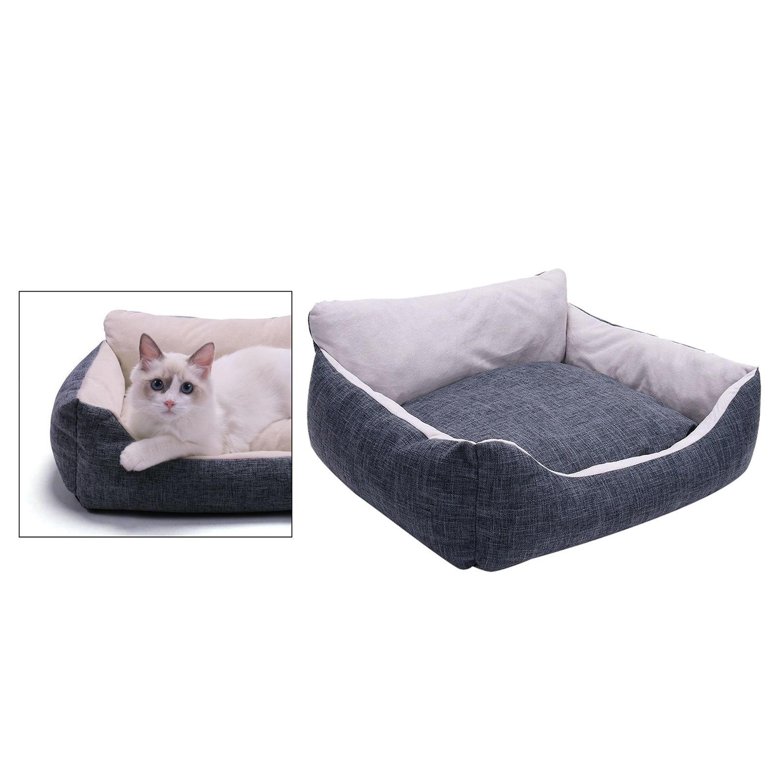 miniature 31 - Chien pour animaux de compagnie, lit de chat doux et lit en peluche chennel