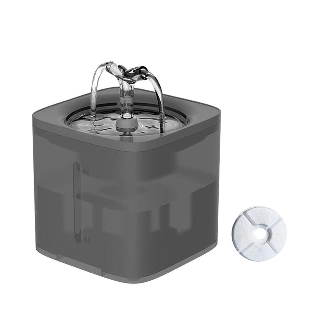 miniature 44 - 2L Chat Électrique Automatique Fontaine D'eau Potable Distributeur Bol USB