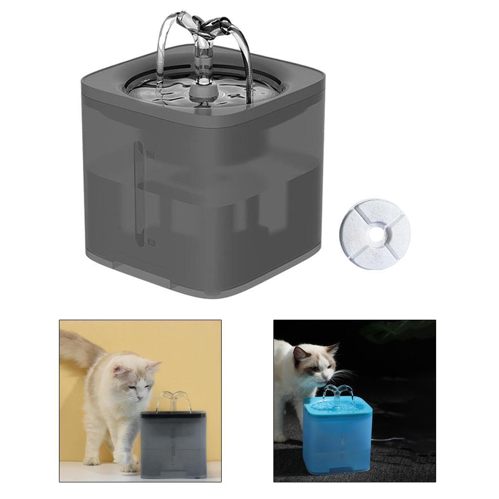 miniature 43 - 2L Chat Électrique Automatique Fontaine D'eau Potable Distributeur Bol USB