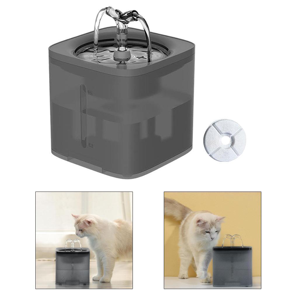 miniature 37 - 2L Chat Électrique Automatique Fontaine D'eau Potable Distributeur Bol USB