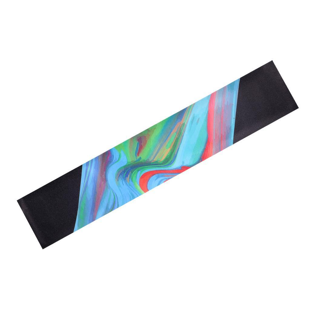 Nastro-Antiscivolo-Griptape-Professionale-Attrezzp-di-Longboard-Skateboard miniatura 17
