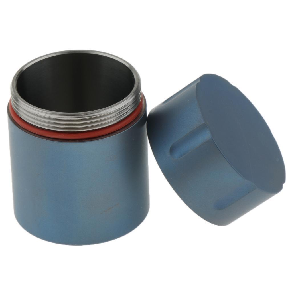 Titanium-Survival-Waterproof-Capsule-Pill-Case-Box-Tablets-Storage-Container thumbnail 16