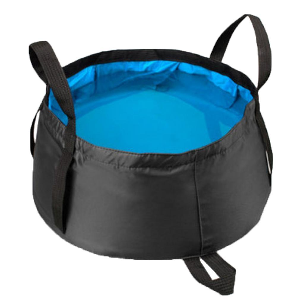 Outdoor Collapsible Washing Basin Water Container 8.5L for Camping Hiking