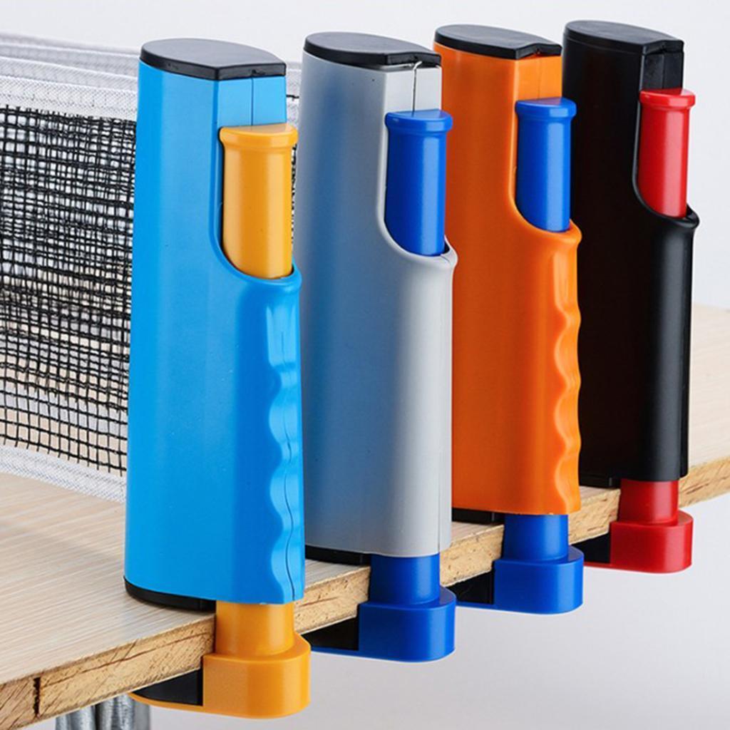 miniature 12 - Simplement einziehbares table tennisnetz Fort Portable Pong Net Rack de rechange