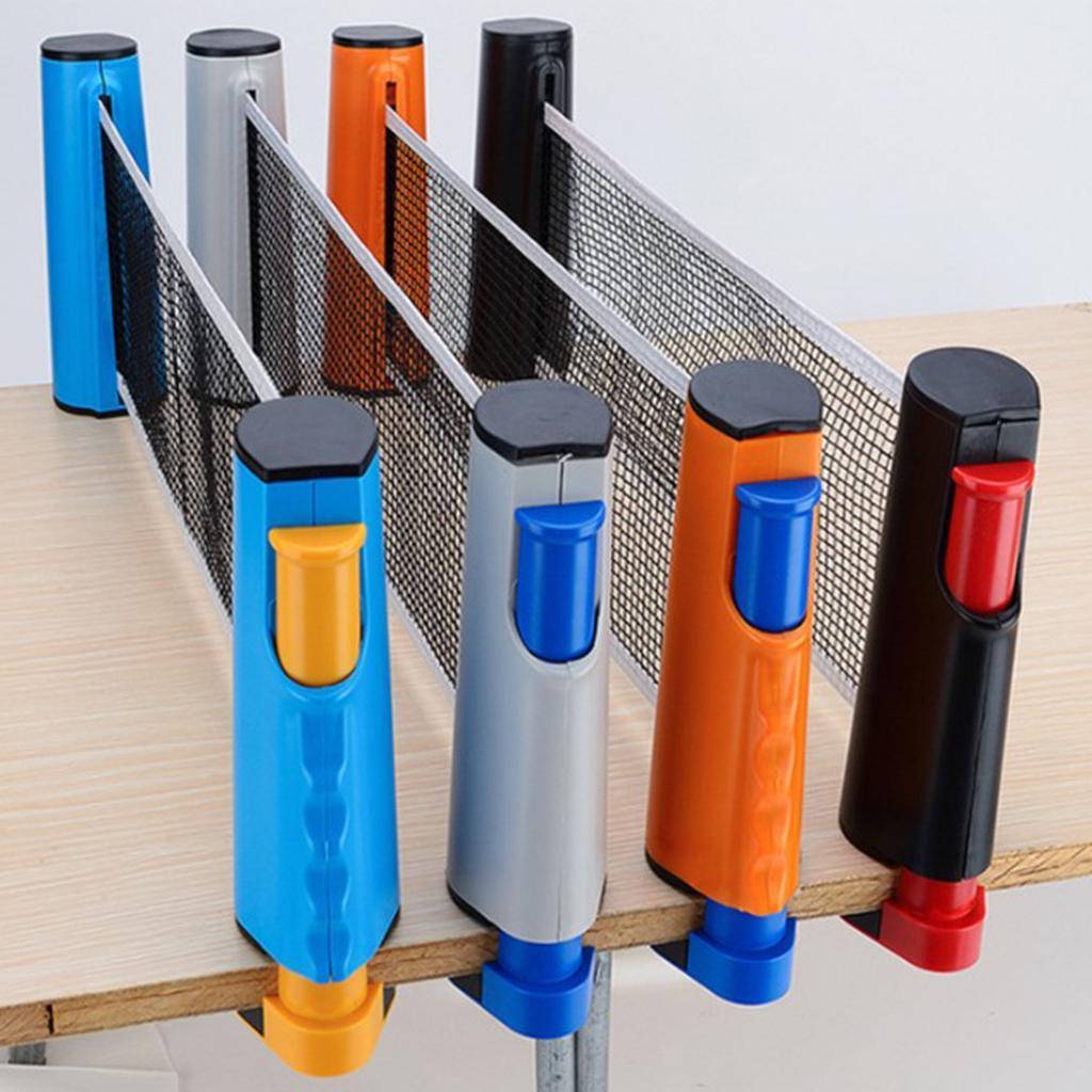 miniature 12 - Einziehbares table tennisnetz Mesh Portable Table tennisnetz Rack Easy Extend