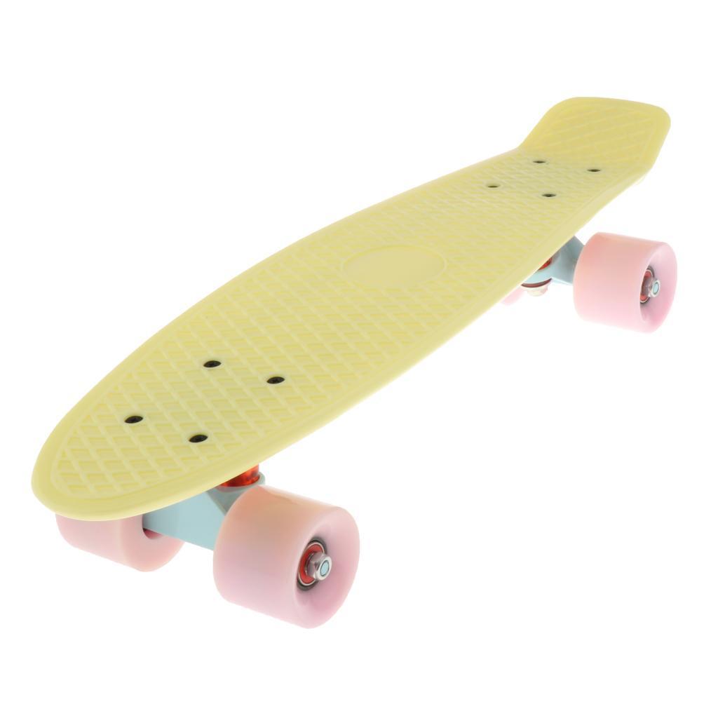 22-034-Cruiser-Skateboard-Longboard-Retro-Skateboard-per-bambini-Extreme-Sport miniatura 3