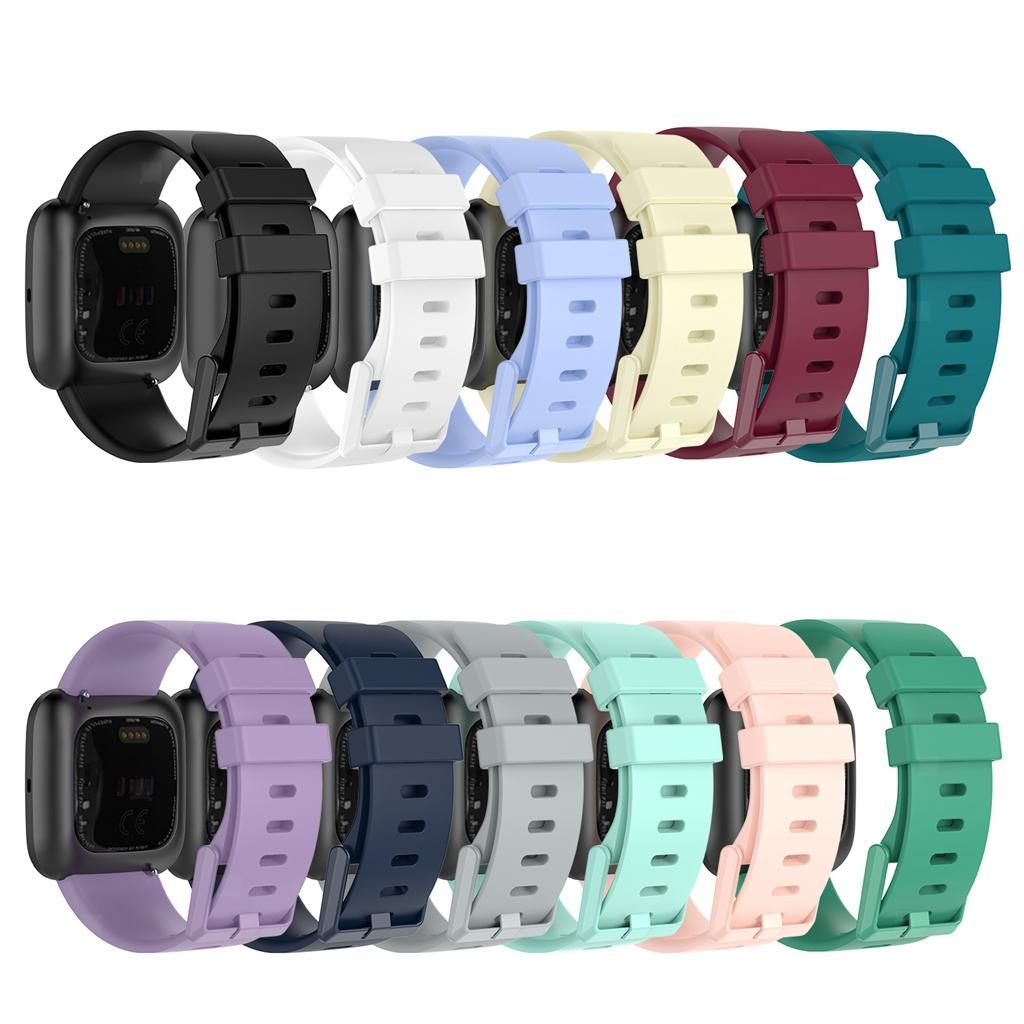 Watch-Strap-Wrist-Band-Rubber-Band-for-Vers-for-Vers-Lite-for-versa-2 thumbnail 18
