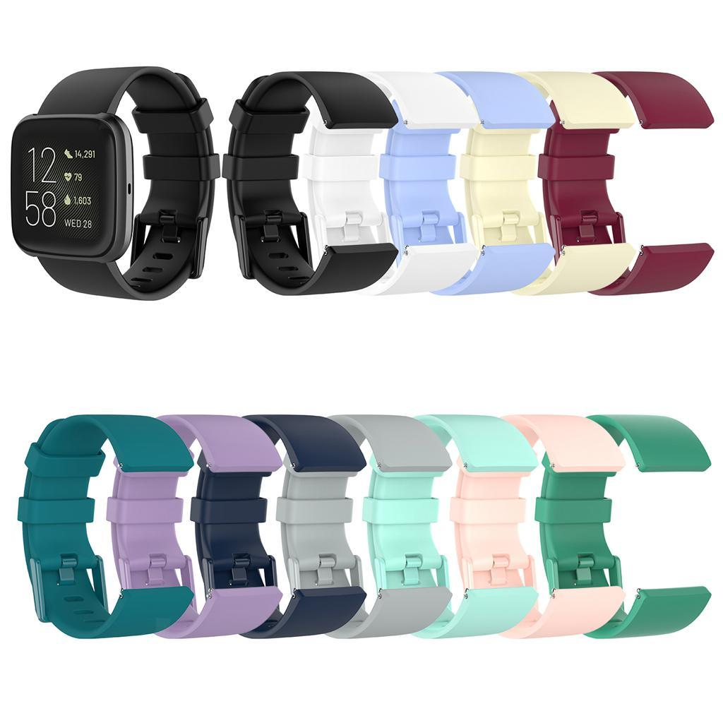 Watch-Strap-Wrist-Band-Rubber-Band-for-Vers-for-Vers-Lite-for-versa-2 thumbnail 19