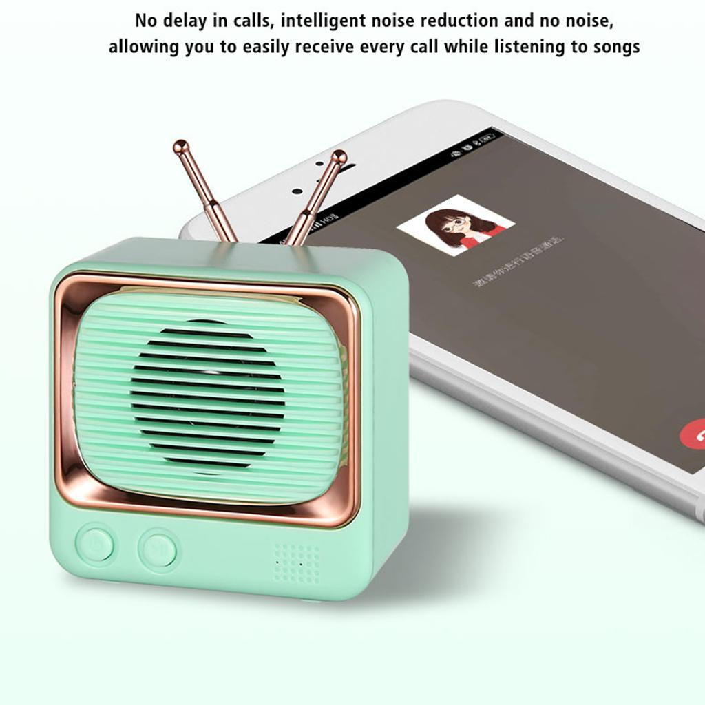 Retro-FM-Radio-Vintage-Bluetooth-Speaker-900mAh-Battery-Capacity-with-Best-Sound thumbnail 7