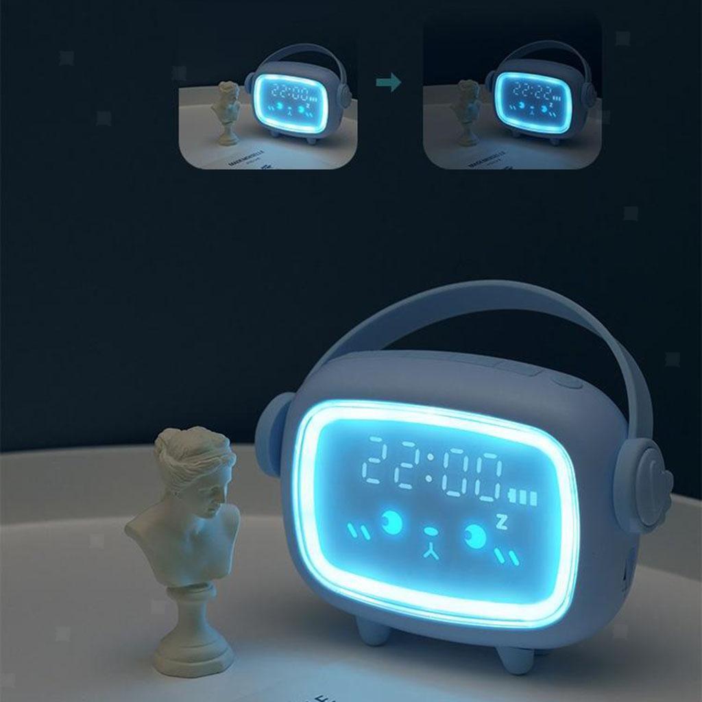 Indexbild 3 - LED Digital Kinder Wecker mit Nachtlicht für Mädchen Jungen Schlafzimmer Ok zu
