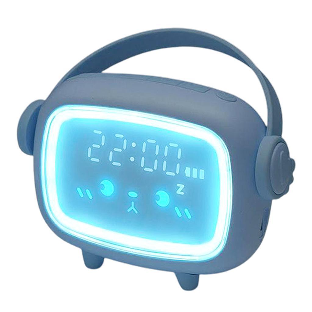 Indexbild 4 - LED Digital Kinder Wecker mit Nachtlicht für Mädchen Jungen Schlafzimmer Ok zu