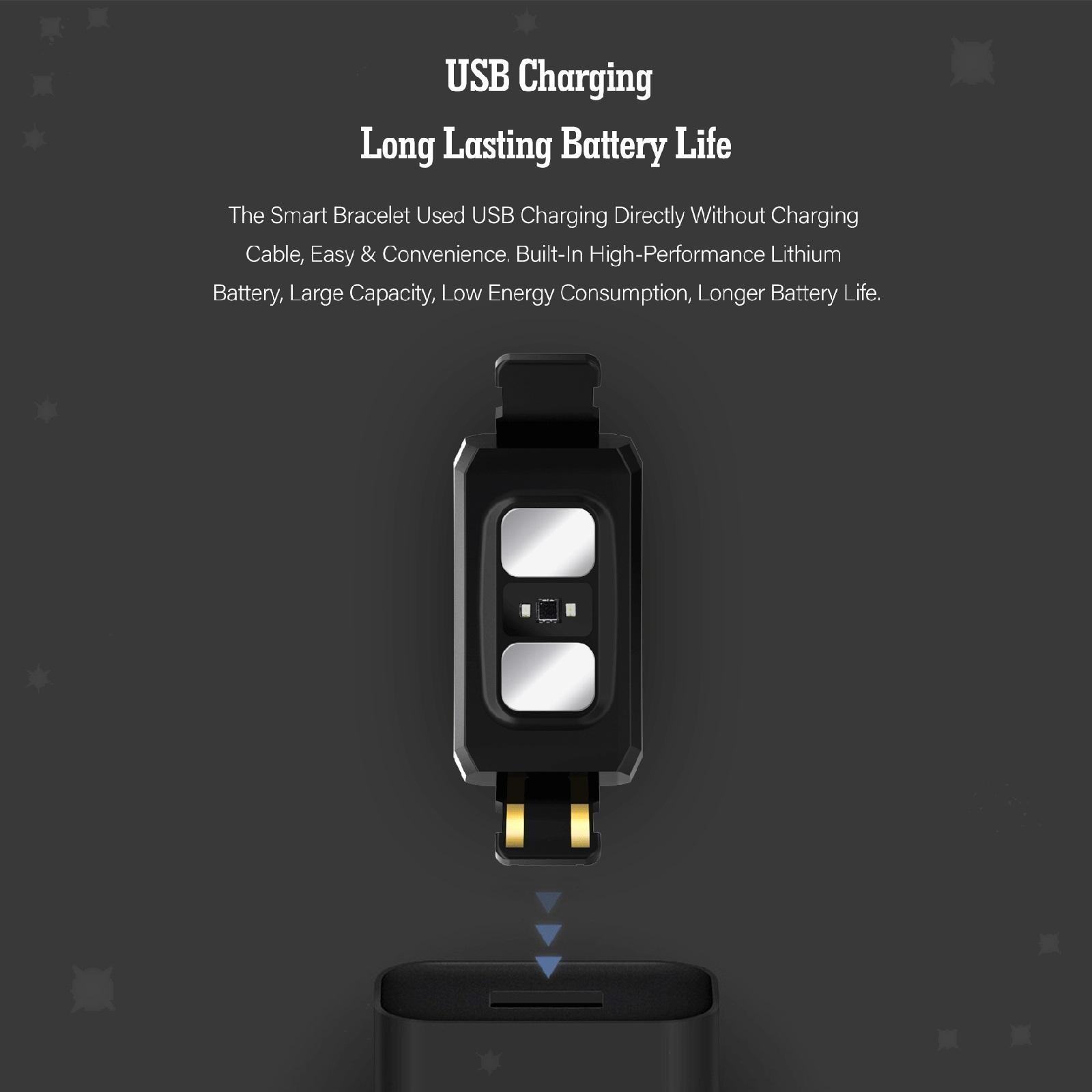 Indexbild 7 - Wasserdichtes Smart Watch Blutsauerstoffdruck Herzfrequenzmesser Armband
