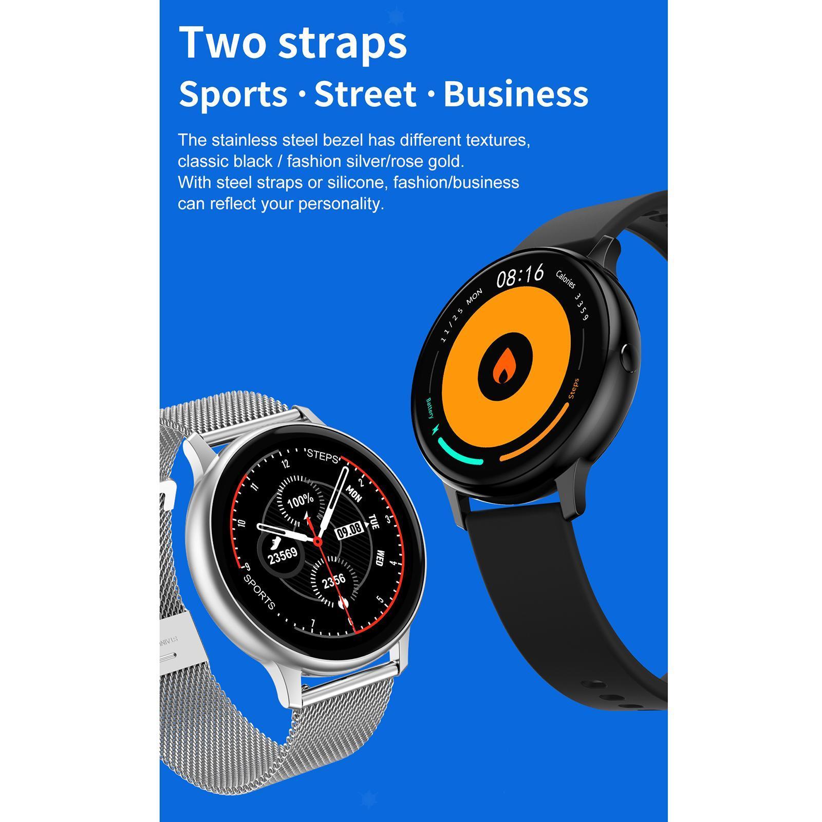 Indexbild 13 - Neue DT88 PRO Smart Uhr Herzfrequenz EKG Monitor Smartwatch für IOS Android