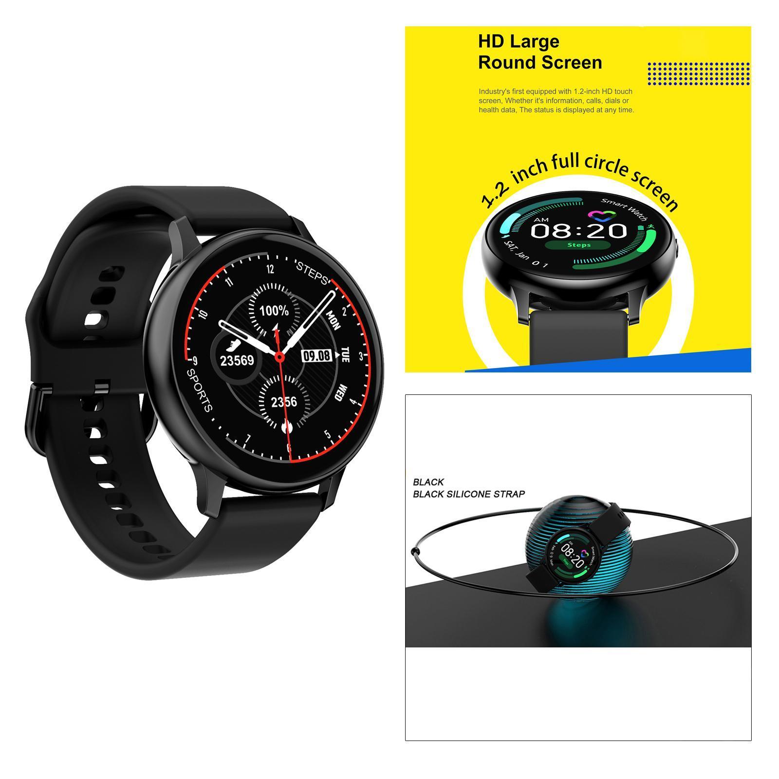 Indexbild 14 - Neue DT88 PRO Smart Uhr Herzfrequenz EKG Monitor Smartwatch für IOS Android