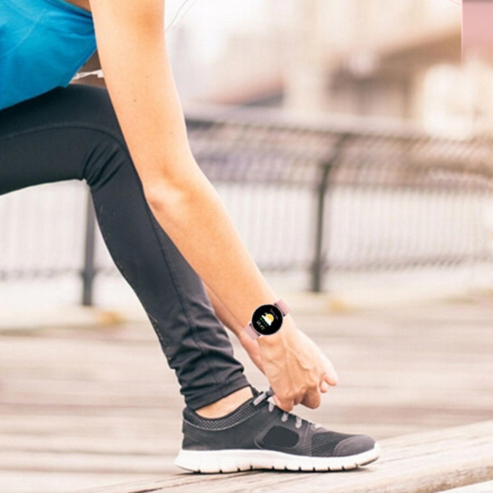 miniature 18 - Étanche Femmes Montre Intelligente Bracelet Sport Fitness Tracker Mode