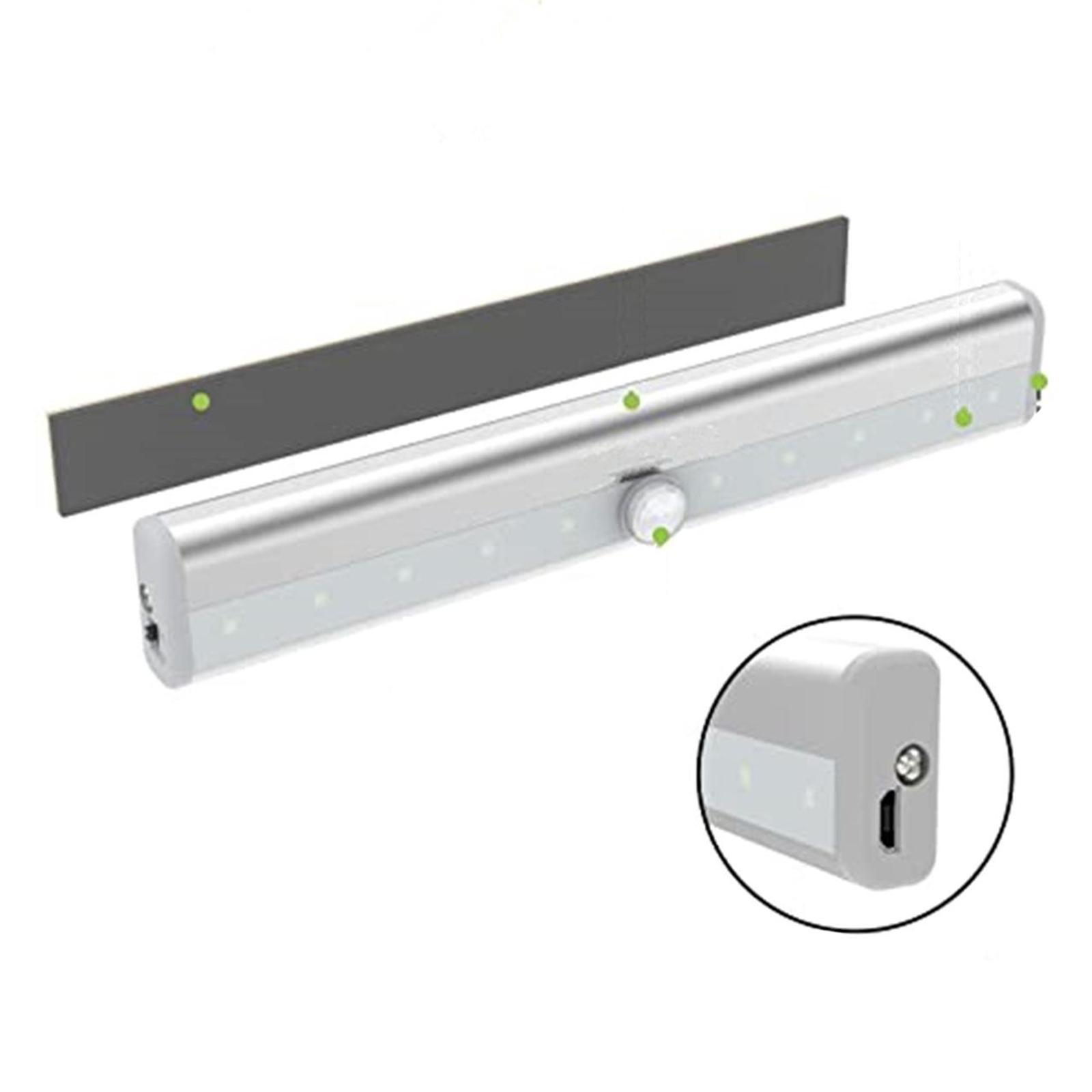 miniatura 5 - Lampada da parete a LED con sensore di movimento camera da letto armadio armadio