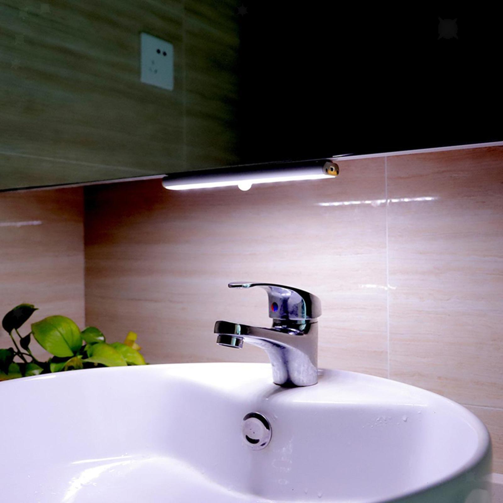 miniatura 14 - Lampada da parete a LED con sensore di movimento camera da letto armadio armadio