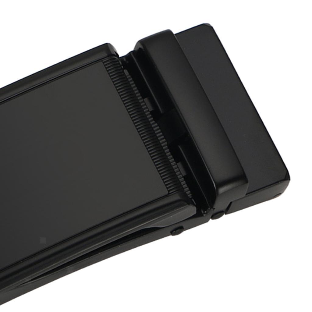 Remplacement-de-ceinture-en-cuir-a-cliquet-poli-par-metal-de-boucle-de miniature 3