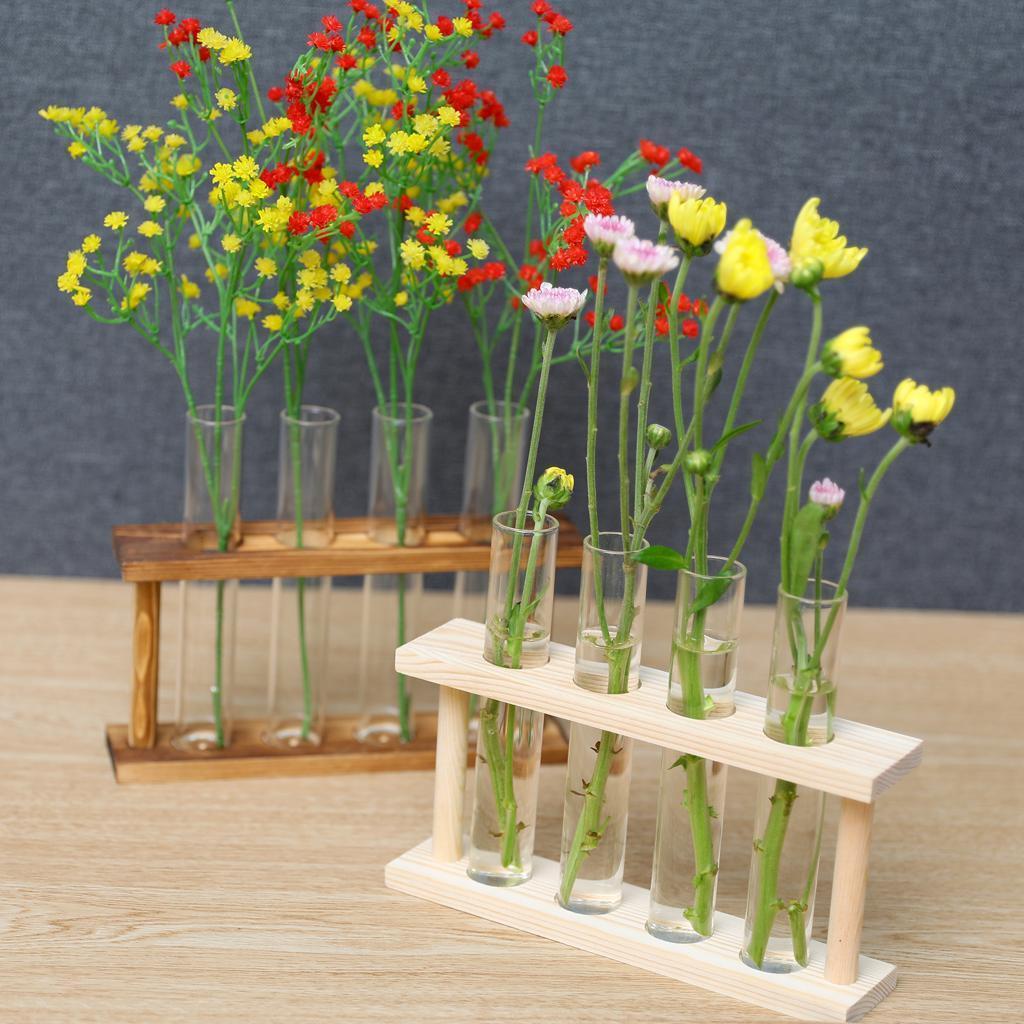 Indexbild 7 - Kristallglas Reagenzglas Pflanze Terrarium Vase Blumentöpfe für