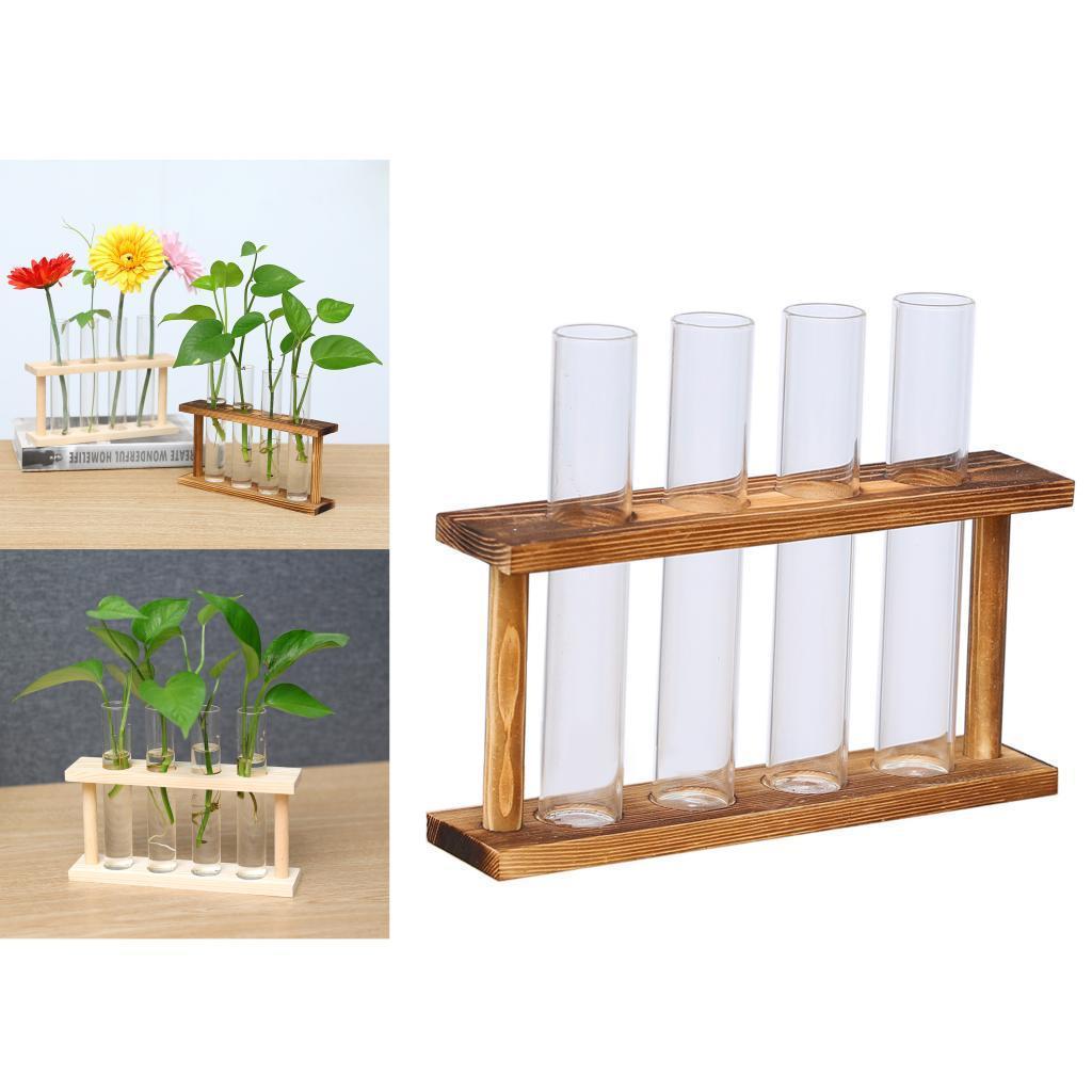Indexbild 6 - Kristallglas Reagenzglas Pflanze Terrarium Vase Blumentöpfe für