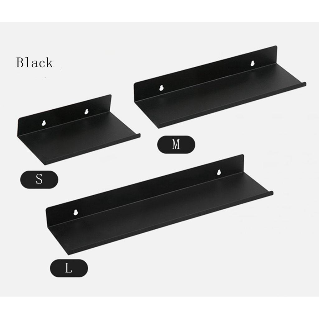 miniatura 30 - Durevole In Acciaio Al Carbonio Mensola Mobile Rack per la Casa
