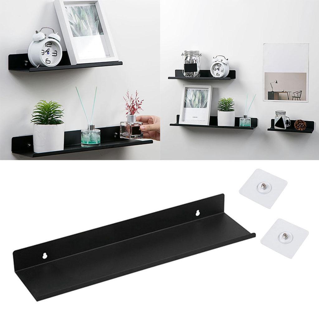 miniatura 28 - Durevole In Acciaio Al Carbonio Mensola Mobile Rack per la Casa