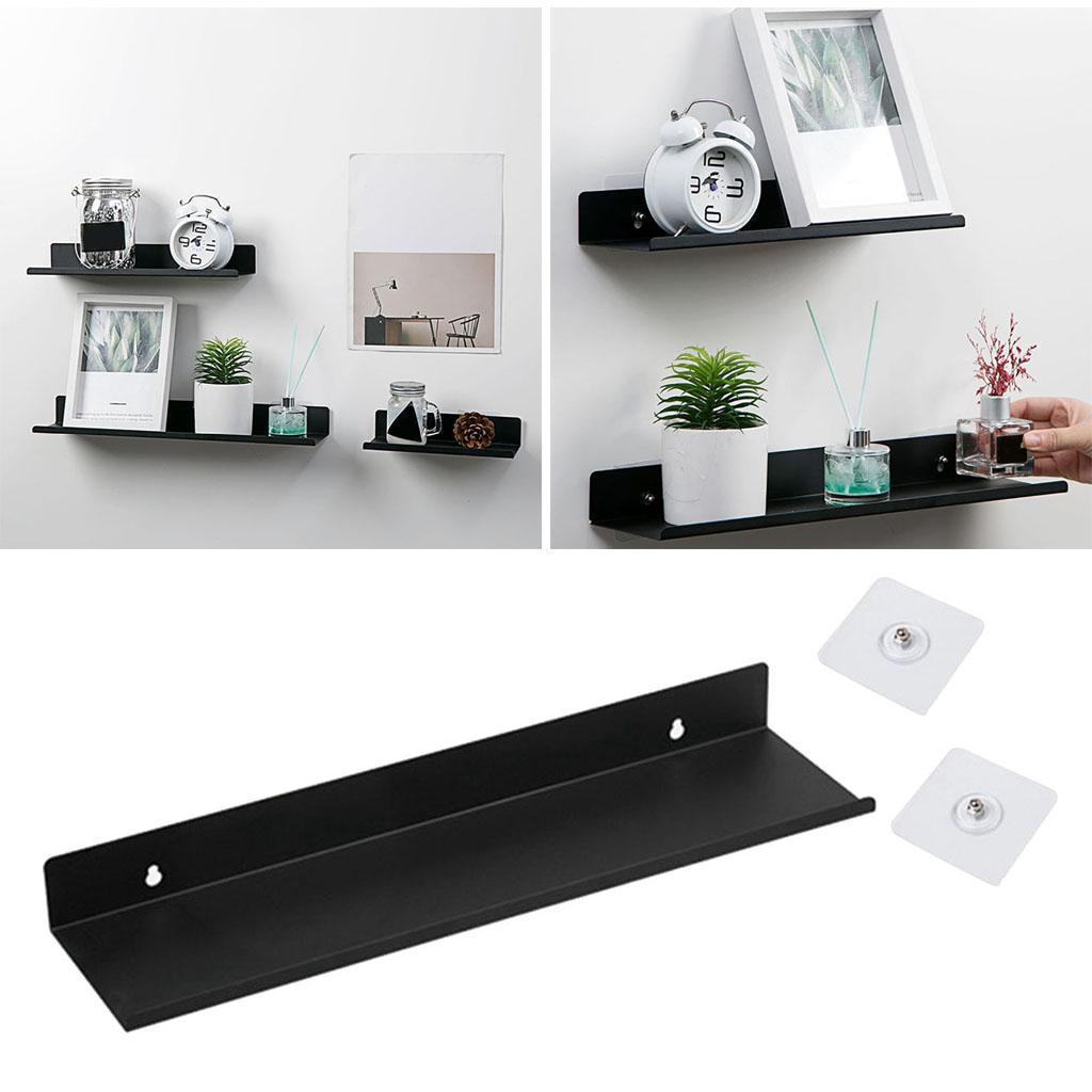 miniatura 26 - Durevole In Acciaio Al Carbonio Mensola Mobile Rack per la Casa