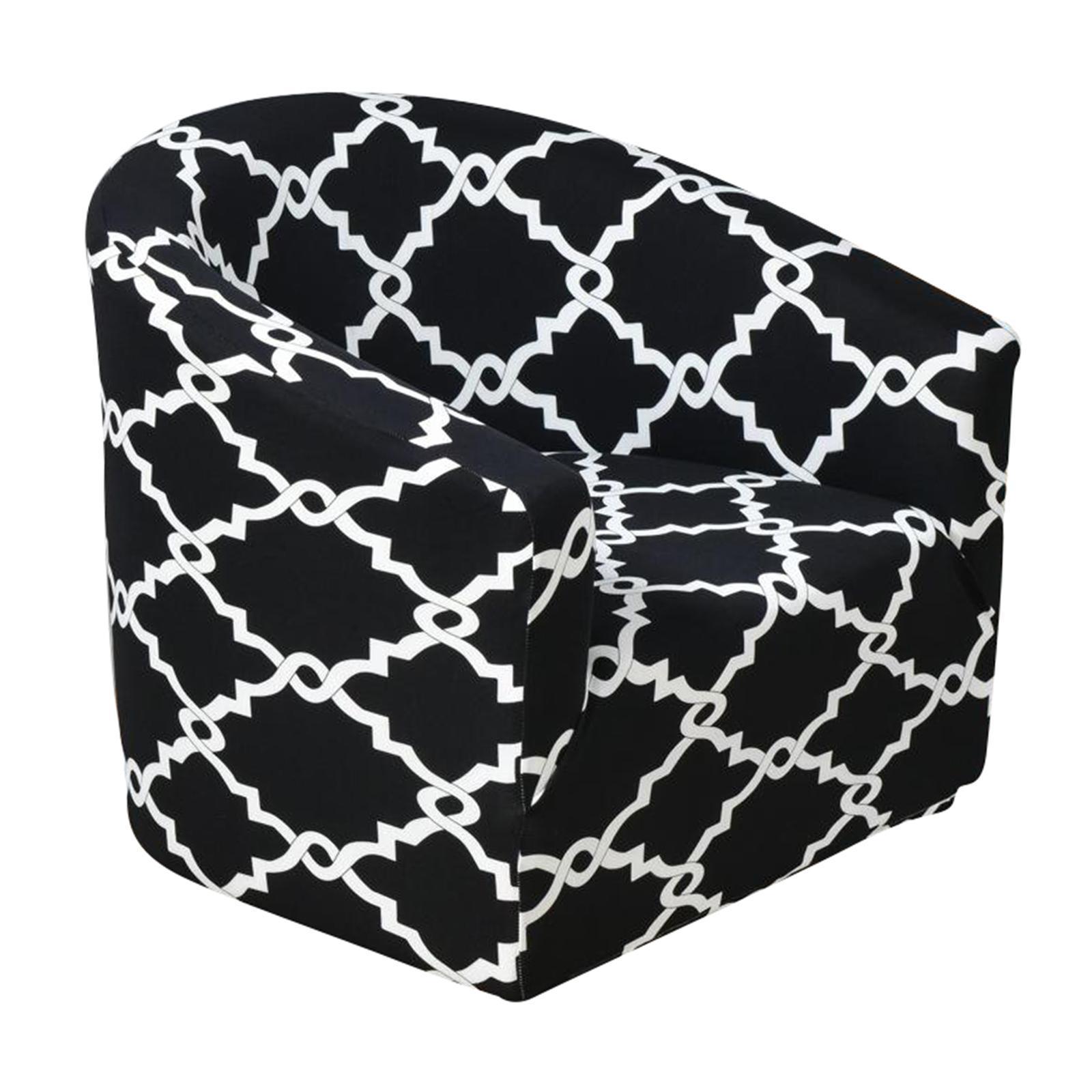 miniatura 4 - Fodera per poltrona singola per poltrona Fodera per sedia in colori assortiti