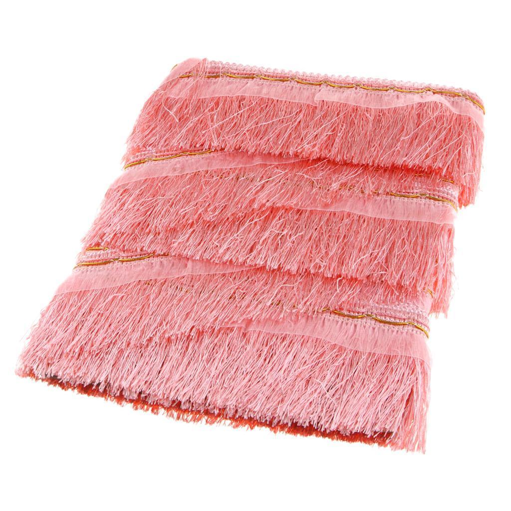 miniatura 10 - 1 rotolo di poliestere bordo nappa tappezzeria treccia trim tessuti per la casa
