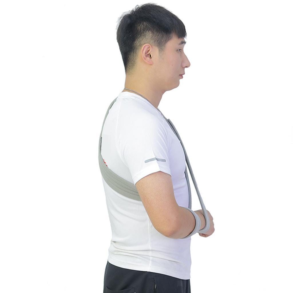 Verstellbare-Armschlinge-Armtragegurt-Armbandage-fuer-Maenner-und-Frauen Indexbild 3