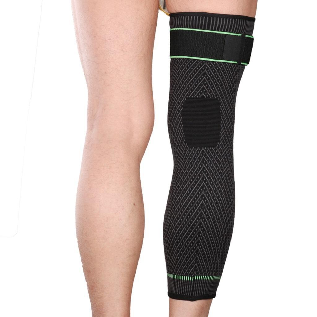 Nylon-Knit-Warm-Knee-Brace-Compression-Knee-Support-Protector-for-Arthritis-Run thumbnail 10