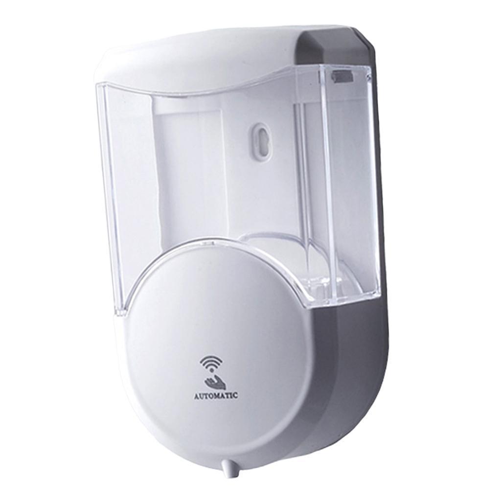 Dispenser-Automatico-Di-Sapone-Da-600-Ml-Di-Grande-Capacita-Del-Contenitore-Per miniatura 3