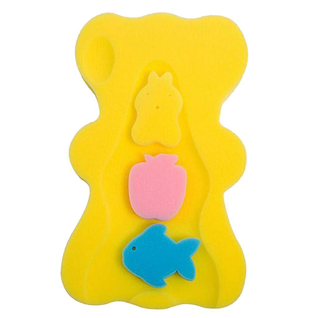 miniatura 7 - Cute Baby Care Spugna da bagno Cuscino da bagno Tappetino da bagno Tappetino da