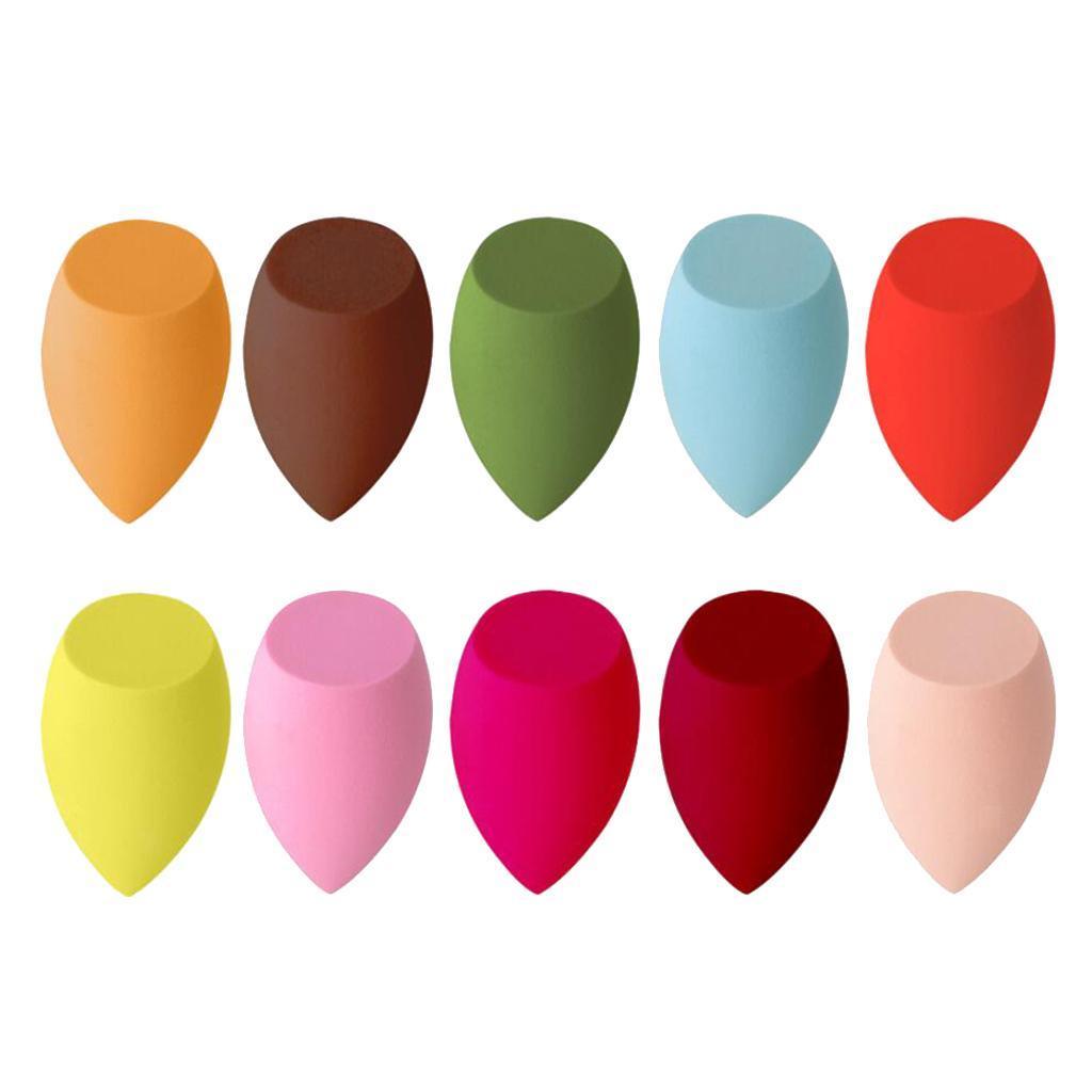 10-Pieces-Beaute-Maquillage-eponge-Ensemble-Melangeur miniature 9