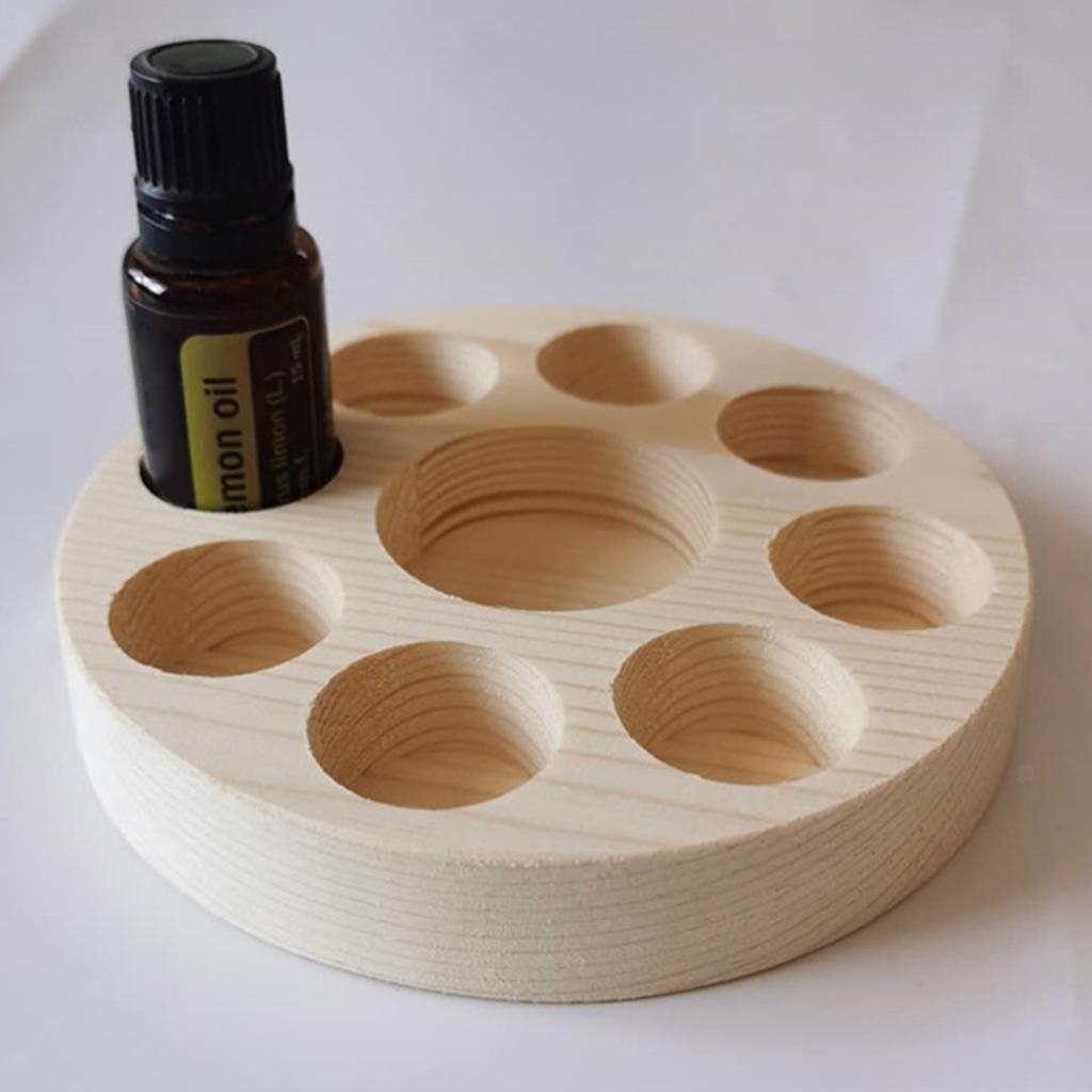 Di-alta-Qualita-di-Olio-Essenziale-di-Legno-Contenitore-Del-Basamento-della miniatura 14