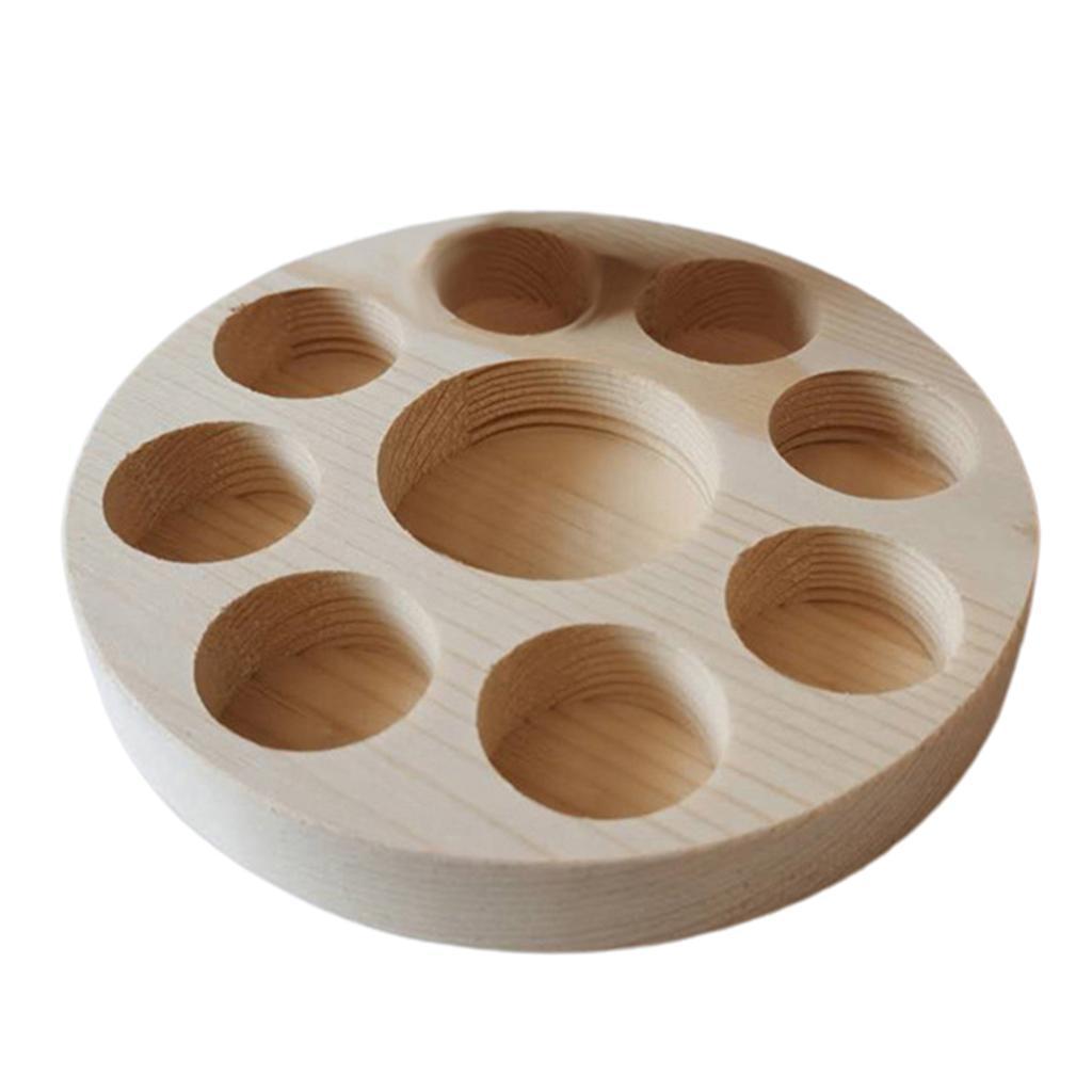 Di-alta-Qualita-di-Olio-Essenziale-di-Legno-Contenitore-Del-Basamento-della miniatura 15