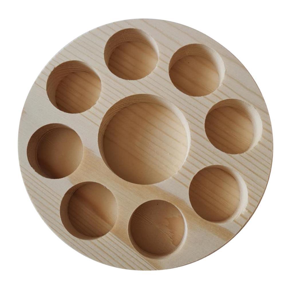 Di-alta-Qualita-di-Olio-Essenziale-di-Legno-Contenitore-Del-Basamento-della miniatura 16