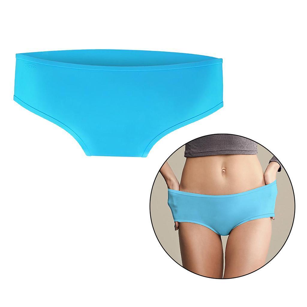 thumbnail 4 - Women's Bikni Bottom Silicone Tankini Swimsuit Briefs Waterproof Bathing Suit