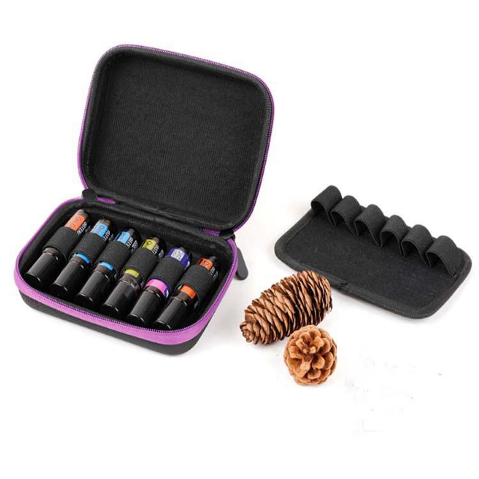Sacchetto-di-olio-essenziale-custodia-da-viaggio-per-aromaterapia-da-10ml-per-12 miniatura 44