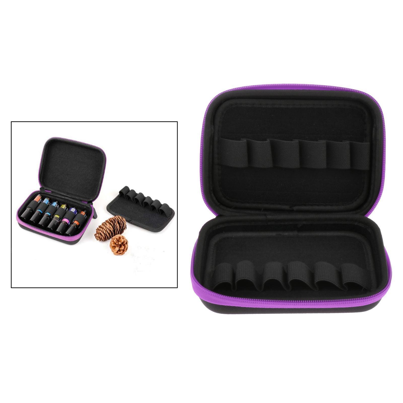 Sacchetto-di-olio-essenziale-custodia-da-viaggio-per-aromaterapia-da-10ml-per-12 miniatura 40
