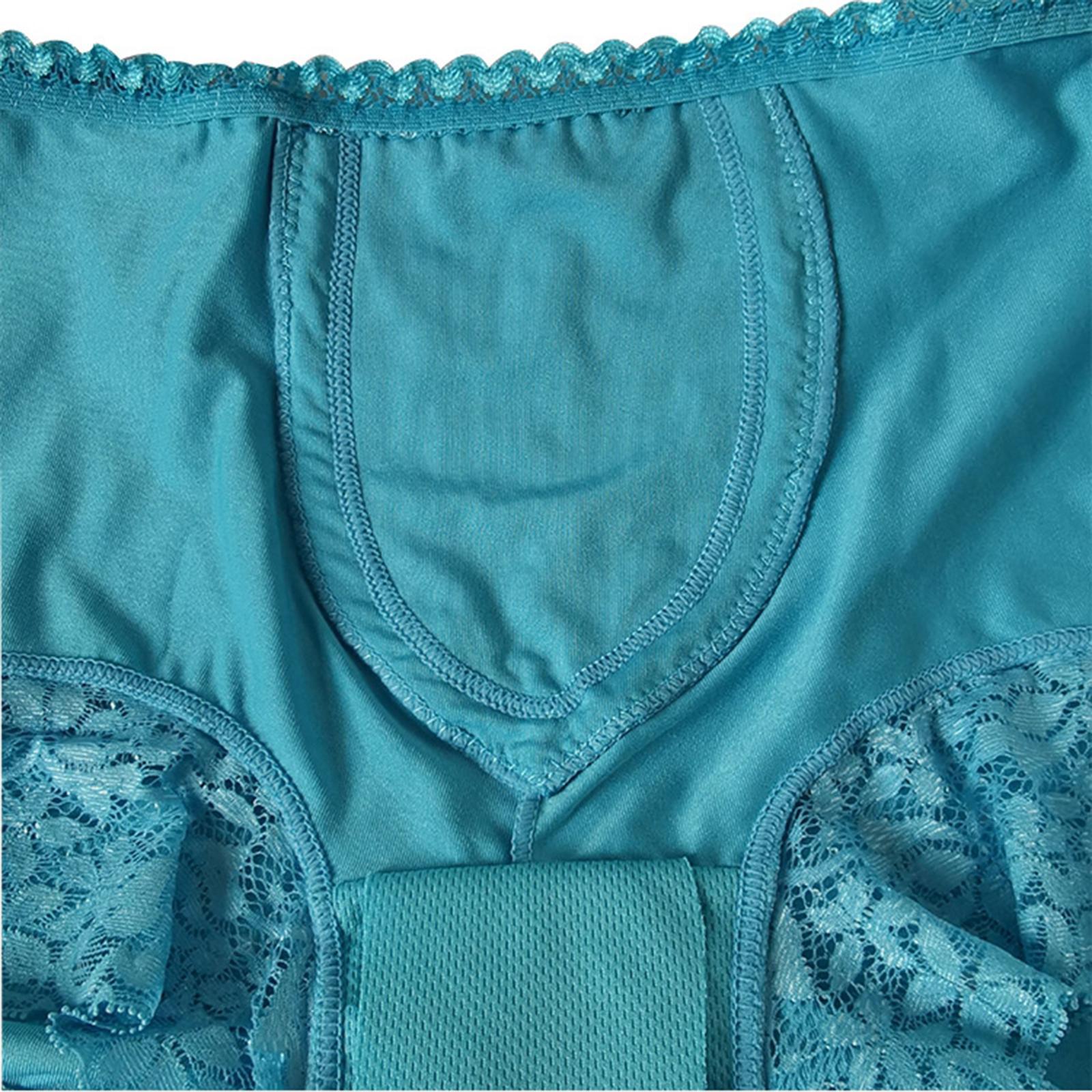 Indexbild 20 - Wiederverwendbare Inkontinenz Unterwäsche mit Pad für Frauen Menstruations